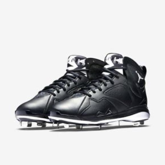 Mens Nike Men's Air Jordan 7 Retro Metal Baseball Cleat Your Best Choose Size 42